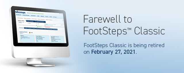 Farewell to FootSteps Classic